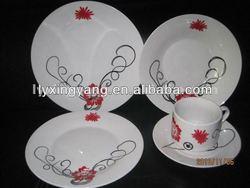 light weight dinner set,french style dinner set tableware,traditional dinner set