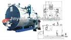 steam boiler manufacturer WNS series oil/gas fired steam boilers