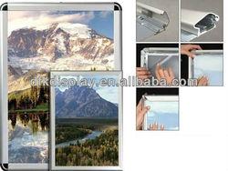 aluminum poster frame,aluminum extrusion snap frame(DFK13-1)