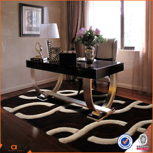 3D famous and futuristic polyester microfiber carpet