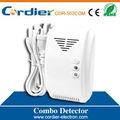 venda quente domésticos co e gás detector combinação