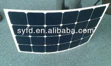 Good quality Semi Flexible Sunpower Solar Panel 90W/100W/110W /120W Mono (TUV ,MCS ,UBNS,IEC,ROHS3