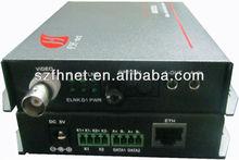 1ch fiber digital video converter with RS232/485 data
