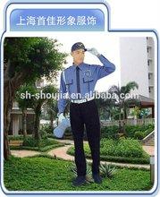 Diseño de moda de uniformes de seguridad/camisa de seguridad/seguridad uniforme de guardia
