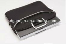 fashion neoprene laptop sleeve with metal handle