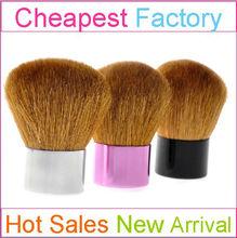 Large Size Best Goat Hair Kabuki Brush Cosmetic with Custom Logo Brush Cosmetic