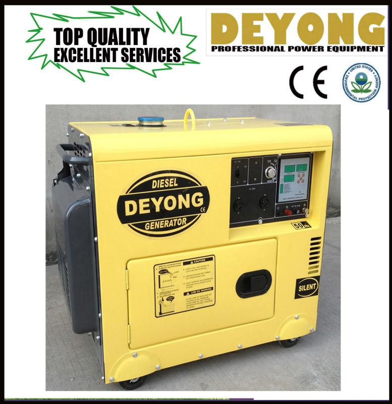 diesel generator with digital panel