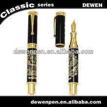 2013 dewen luxury metal Chinese dragon fountain pen