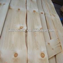 Sliced Cut Chinese Knotty Pine Veneer