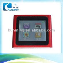 "1.8"" inch TFT screen clip mp4,6th gen mp4 player"