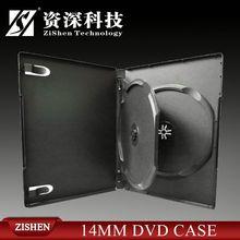 6 dvd box customized printed cd dvd rectangular case