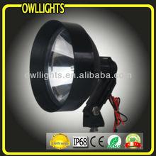 owllights hid driving lighting system,55w external ballast 4x4 hid spot light , HID woking light 55w