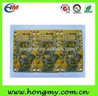 4layer yellow ink HASL PCB board