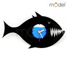 Quartz Clock Cartoon Picture/Fish Wall Clocks Decoration/Shower Clock Wall Clocks