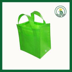 Recycled woven polypropylene shopping bags/custom folding shopping tote bag/non-woven bag
