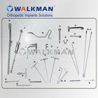 Tibial Interlocking Nail Instruments Set,trauma,surgical instrument, orthopedic implant