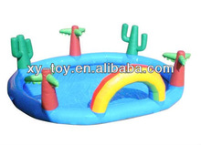 inflatable pool islands,kids swimming pool