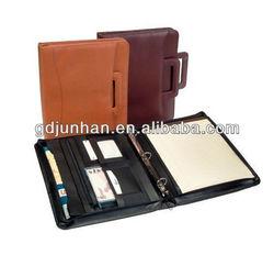 new model zippered document portfolio