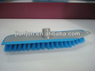 rubber coated scrub floor brushes with scrapper