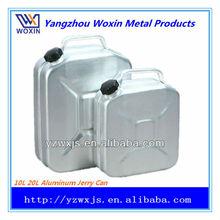 10l alluminio 20l acqua benzina tanica