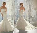 estilo 1951 neve branca vestido de noiva da imagem real