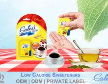 Sucralose tablet low calorie tabletop sweetener tablet in dispenser