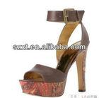 sexy nude high heel sandal shick high heel sandal for women XT08 -S102199