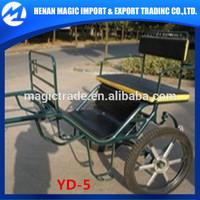 Horse training athletic 2 wheel horse cart