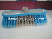rubber coated high quality soft fiber floor brush