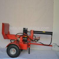 log splitter of tractor equipment