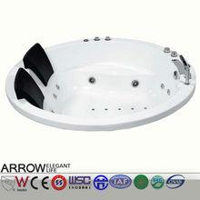 luxury massage bathtub for double person ARROW AC035