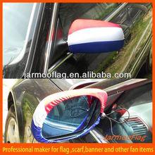 2014 hot car mirror flag cover