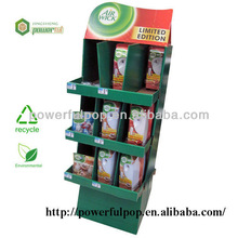 retail pop up cardboard wholesale air wick limited edition display stand