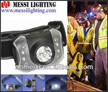 ningbo ultra bright waterproof hiking camping high power led headlamp