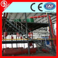 economic auto welding waste tyre/rubber/plastic pyrolysis machine to oil