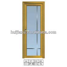 glass inner aluminum shower door,single glass shower door,aluminum frame glass door