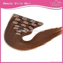 22 inch premium clip in remy human hair extensions peruvian clip in hair extensions