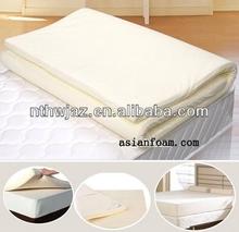 true sleeper memory foam mattress topper