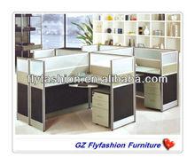 elegangt office workstation for 4 person/office cubicle workstation