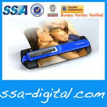 2-in-1 Handy Combo Scanner auto feed /handy scanning, w/LCD screen n docking