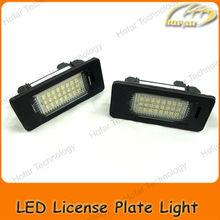 [H02001] LED License Plate Lights for BMW E82 E88 E90 E91 E92 E93 E46 E39 E60 E61 E70 E71