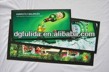 Green Neoprene Fabric Non woven Bar mat