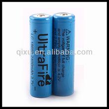 LC 18650 3.7V 2400mAh lithium ion battery