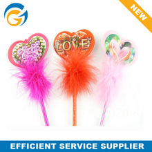 Hot! Love Heart Shape Craft Ball Pen