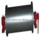 v belt pulley split rotary drum