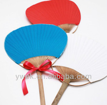 Wedding Favors Color Paddle Fan