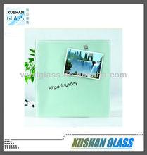 Dry wipe tempered glass board, memo board