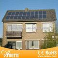 Mejor kit solar de la rejilla 3KW sistema generador de energía solar para la casa