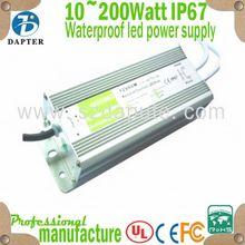 High quality 10~200Watt IP67 Constant Voltage Waterproof emerson switch mode power supply