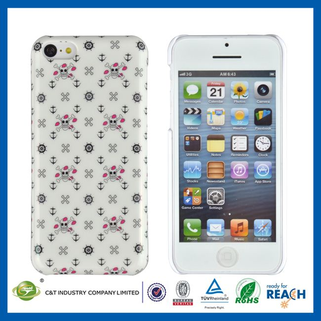 C&T IMD plastic for iphone 5c case, phone case for iphone 5c